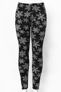 Let It Snow - Fur Lined Leggings