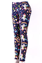 Load image into Gallery viewer, Unicorn Land - Fur Lined Leggings