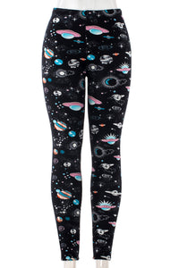 Galactic - Fur Lined Leggings