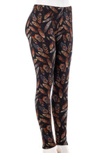 Load image into Gallery viewer, Golden Feathers - Fur Lined Leggings