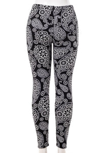 Gears - Fur Lined Leggings