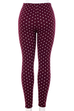 Load image into Gallery viewer, Polka Dots - Fur Lined Leggings