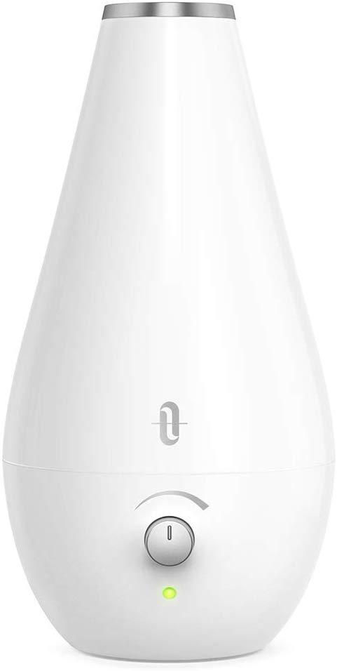 TaoTronics Cool Mist Humidifiers for Babies [BPA Free], 1.8L Quiet and Small Ultrasonic Humidifier for Bedroom Nightstand, Space-Saving, Filterless, Auto Shut Off-(0.48 Gallon, US 110V)