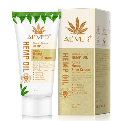 Hemp Oil Facial Cream