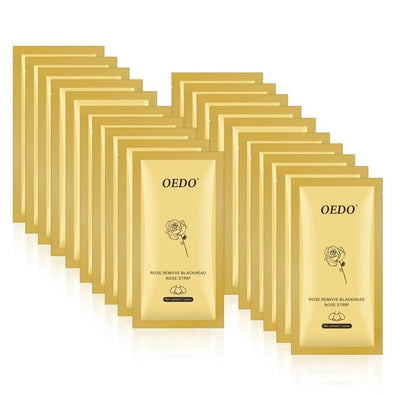 oedo gold black face mask