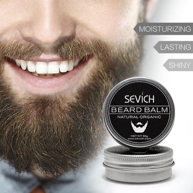 Organic Beard Growth Balm/Wax (30g & 60g)