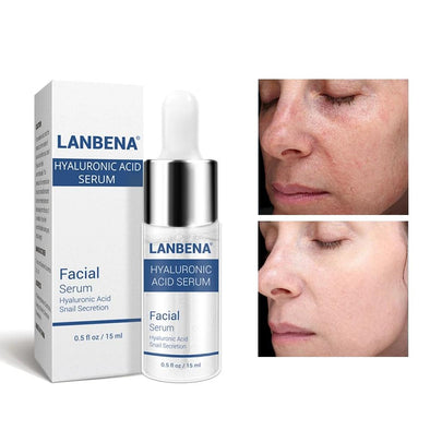 LANBENA™ Treatment For Anti-Ageing Hyaluronic Acid Serum Snail Essence
