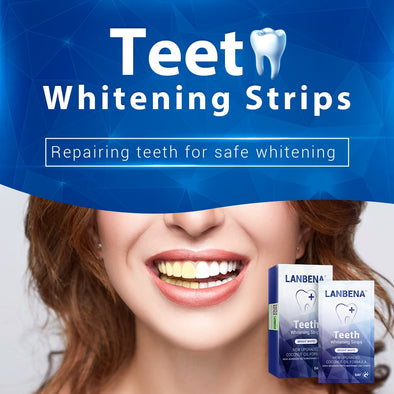 LANBENA™ Teeth Whitening Strips 7 Pairs/Box