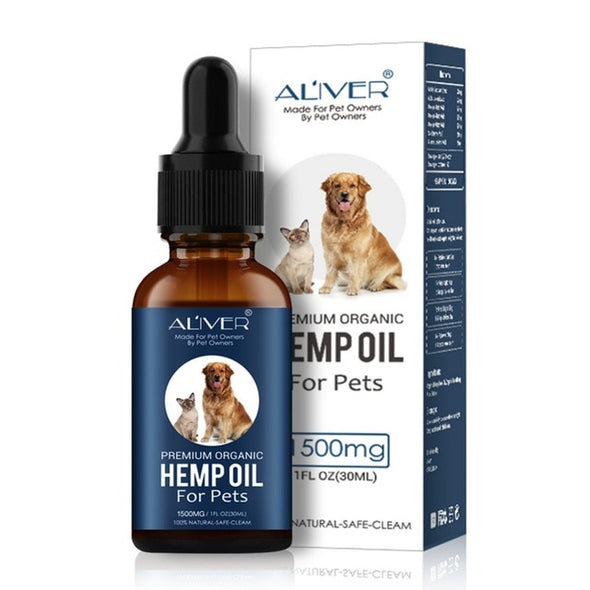 Premium Organic Pet Hemp Oil