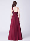 Ever Pretty Elegantes Eine Schulter Langes Abendkleid Mit Pailletten 07446-Burgundy 2
