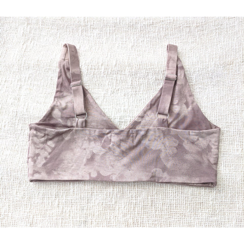 Factory Seconds Harmony Bralette In Moringa Mauve Wide Straps