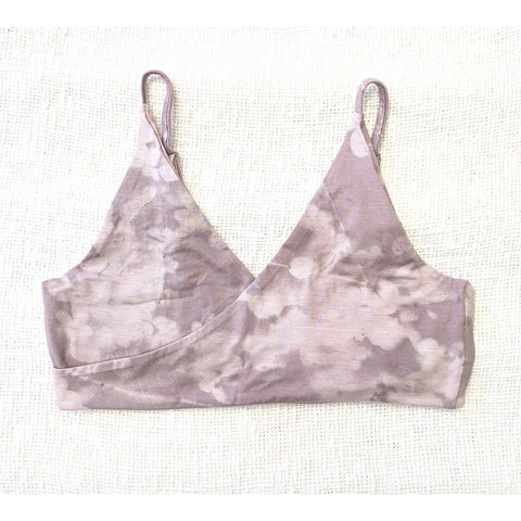 Factory Seconds Harmony Bralette In Moringa Mauve Thin Straps