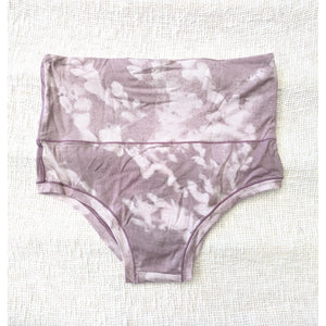 Factory Seconds Mana Highwaist Knickers In Moringa Mauve