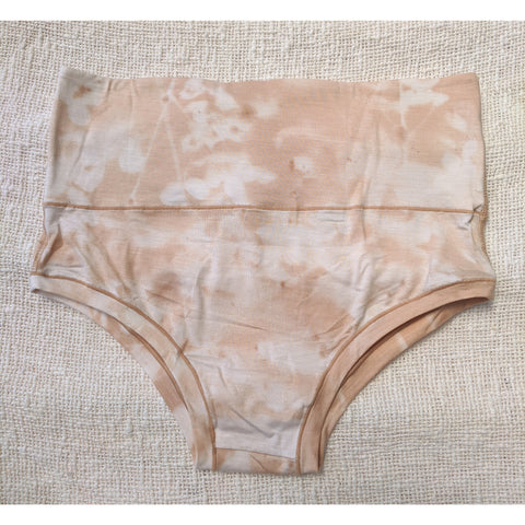 Factory Seconds Mana Highwaist Knickers in Moringa Sand