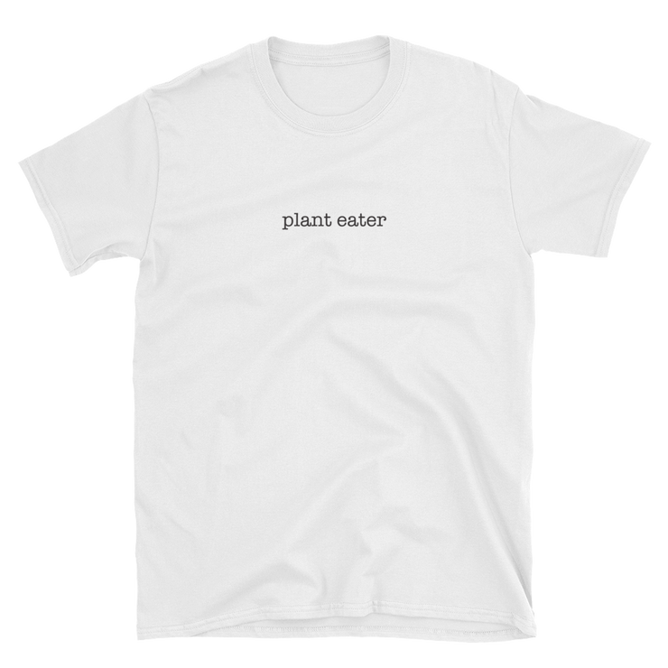 Plant eater. Simple T-shirt