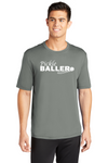 Men's Short Sleeve Performance Tee 'Pickleballer'
