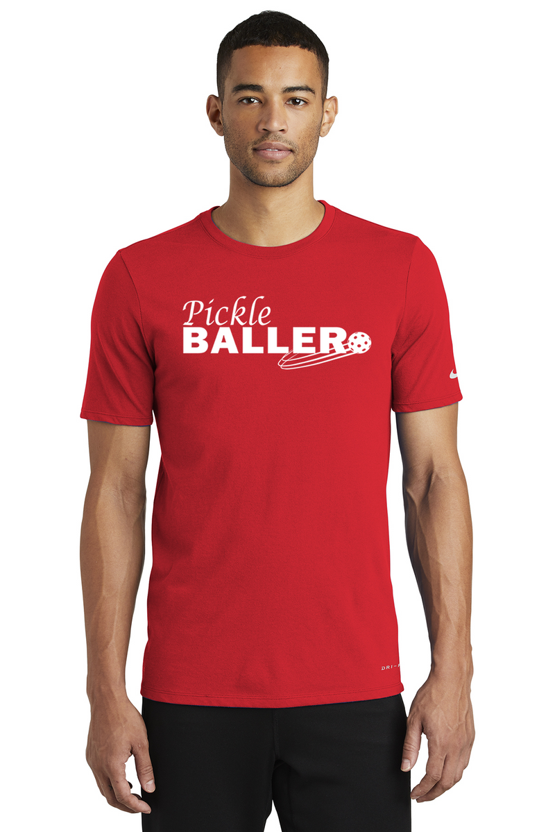 Men's Nike Dri-FIT Cotton/Poly SS Tee 'Pickleballer'
