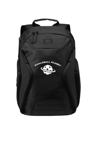 Black pickleball backpack