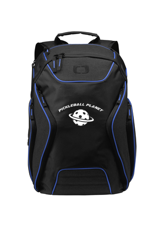 Blue pickleball backpack
