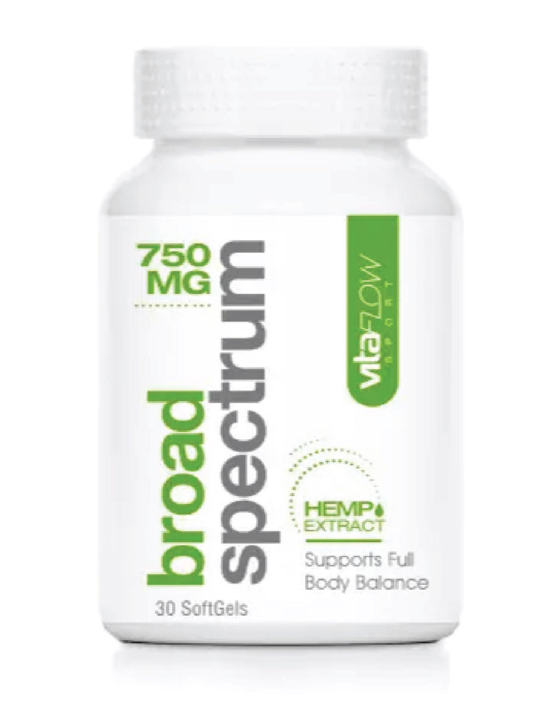 VITAFLOW broad spectrum hemp extract – 750mg