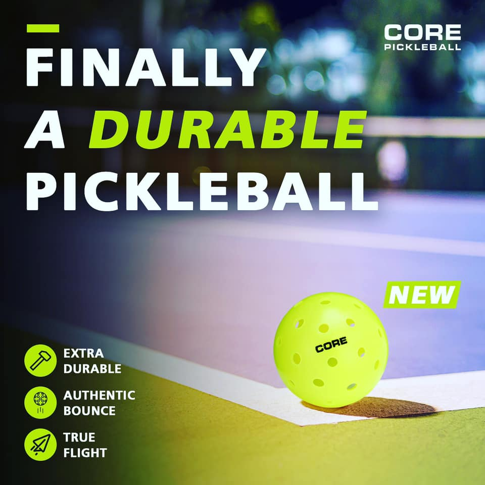 CORE Pickleballs - Fast and Built to Last