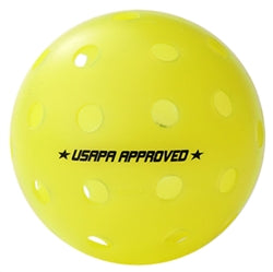 GAMMA PHOTON OUTDOOR PICKLEBALL- 60 Pack (Yellow)
