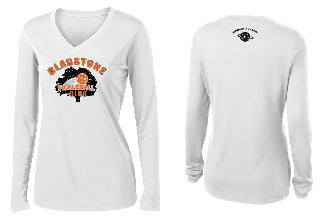 Women's Long Sleeve Performance 'Gladstone PB Club' Shirt