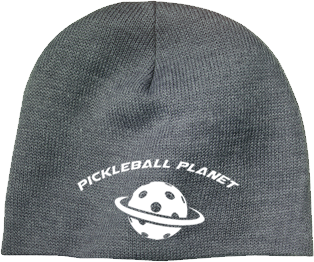 Gray pickleball beanie