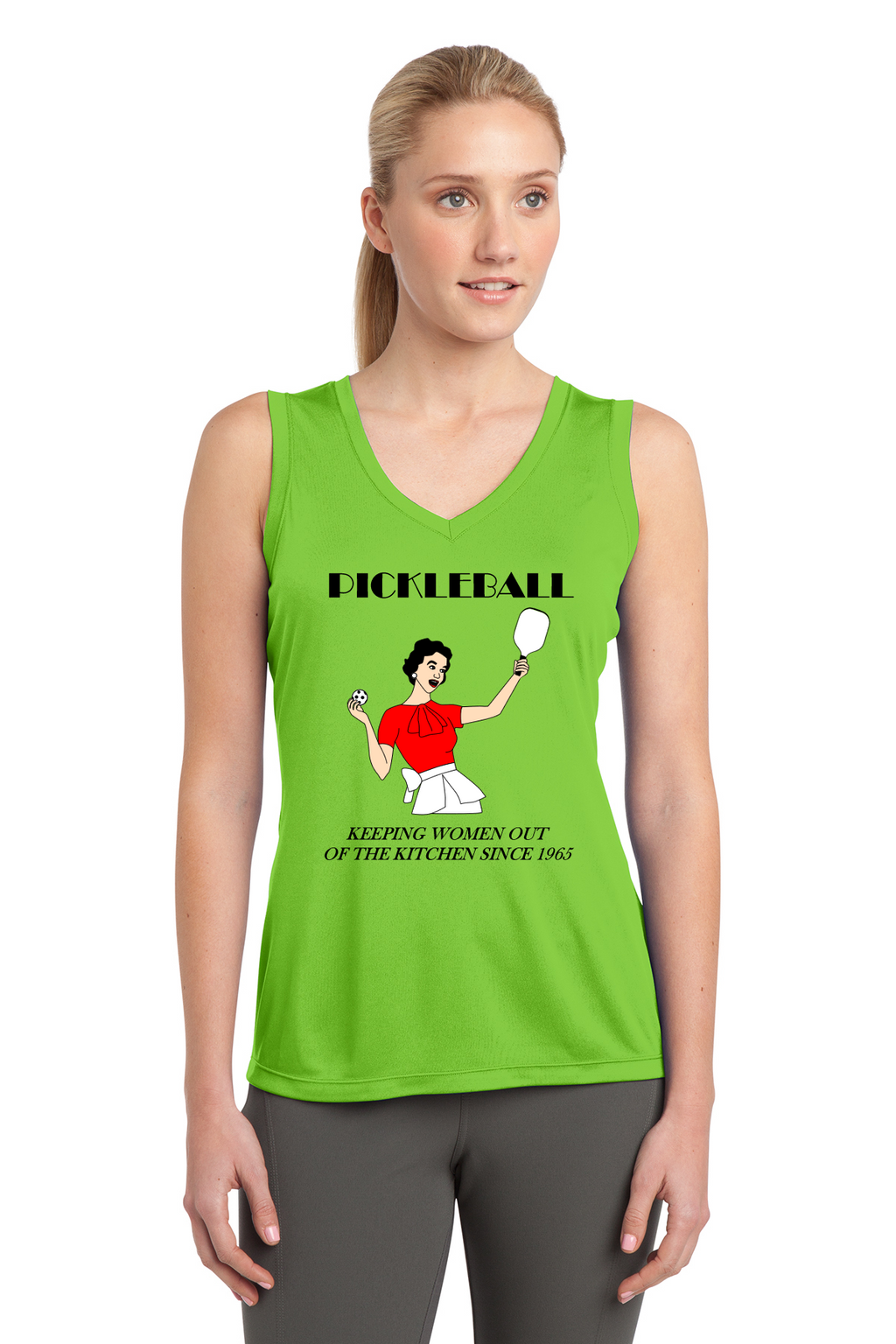 Ladies Sleeveless Performance Tee 'Kitchen'