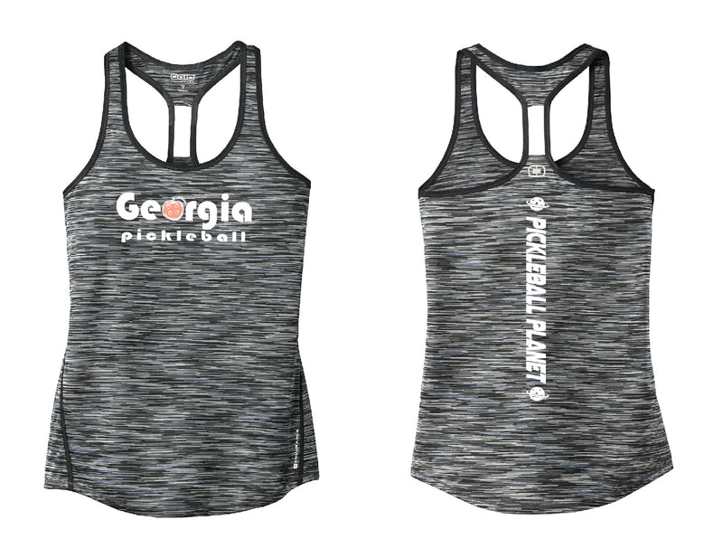 Ladies OGIO Racerback Tank Gray Georgia Pickleball