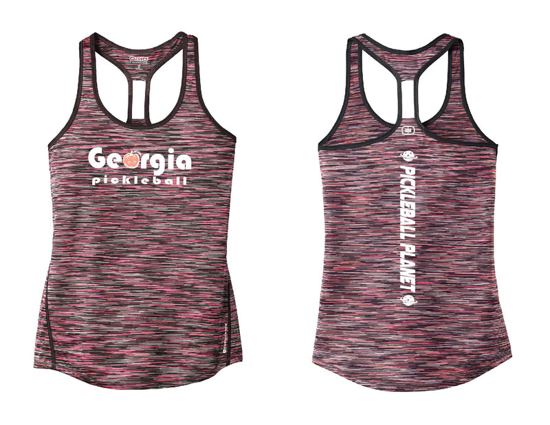 Ladies OGIO Racerback Tank Pink Georgia Pickleball