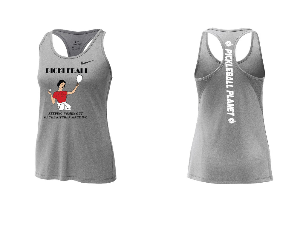 Ladies Nike Dry Balance Tank 'Kitchen' Carbon Heather