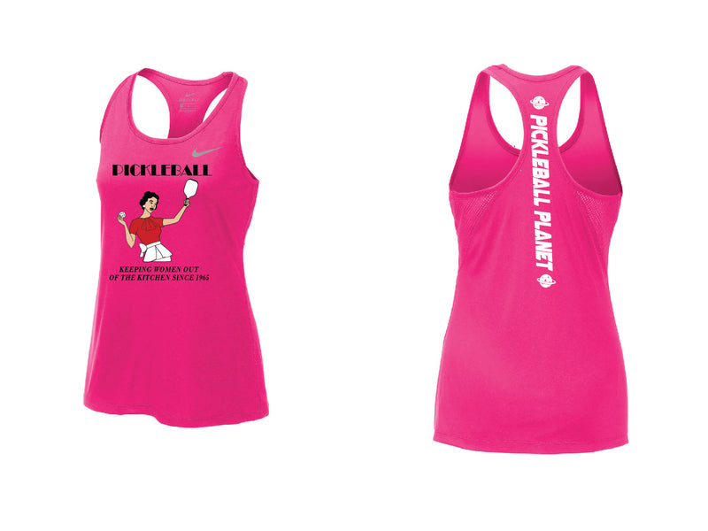 Ladies Nike Dry Balance Tank 'Kitchen' Vivid Pink