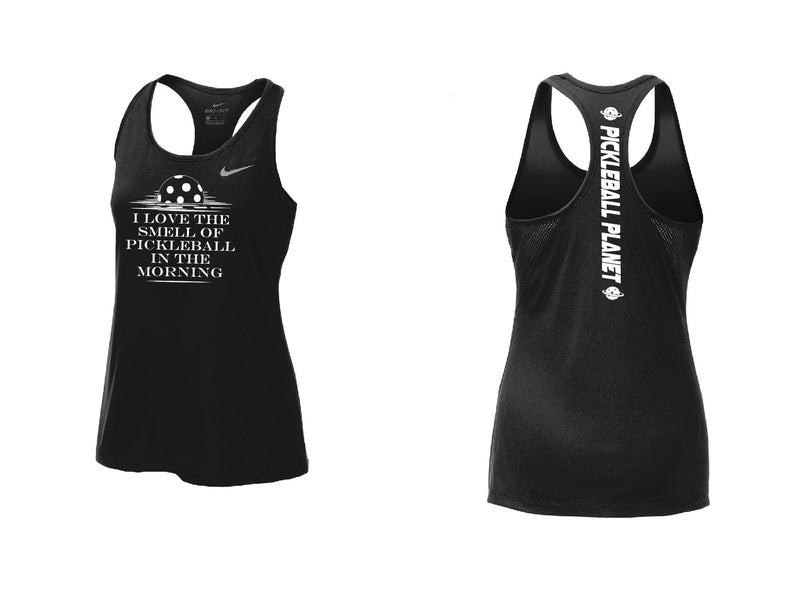Ladies Nike Dry Balance Tank 'I Love the Smell...' Black