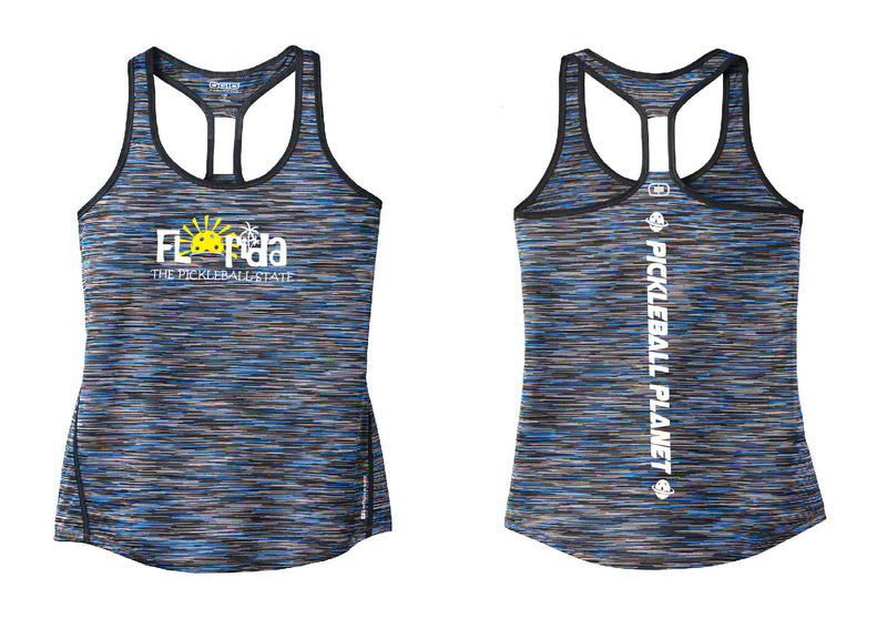 Ladies OGIO Racerback Tank Electric Blue Florida