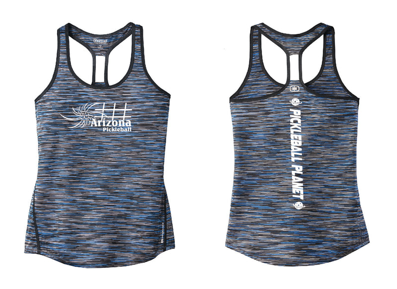 Ladies OGIO Racerback Tank Electric Blue Arizona Sun