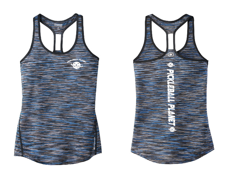 Ladies OGIO Racerback Tank Blue Pickleball Planet
