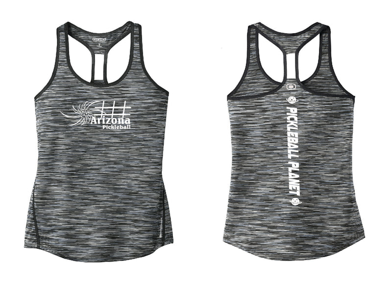 Ladies OGIO Racerback Tank Gray Arizona Sun