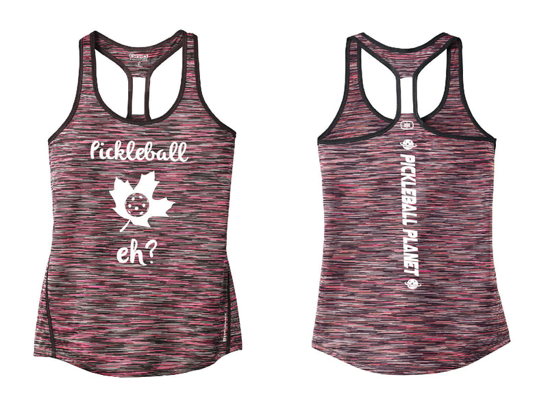 Ladies OGIO Racerback Tank Pink  Pickleball Eh