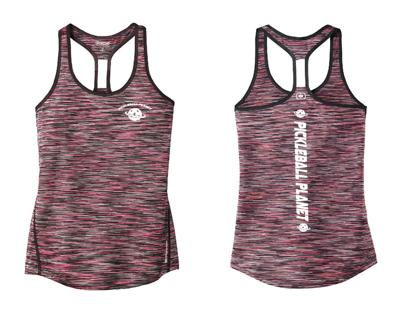 Ladies OGIO Racerback Tank Pink Pickleball Planet