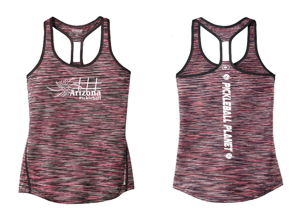 Ladies OGIO Racerback Tank Fierce Coral Pink Arizona Sun
