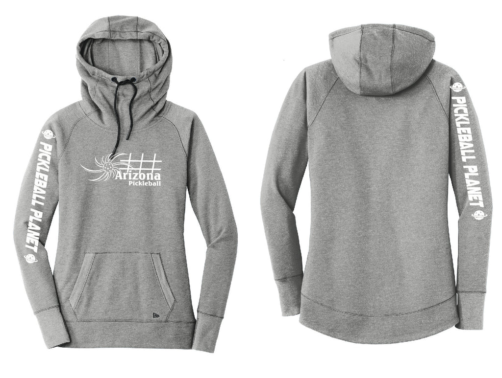 Ladies Pullover Hoodie Shadow Gray Heather Heather Arizona Sun