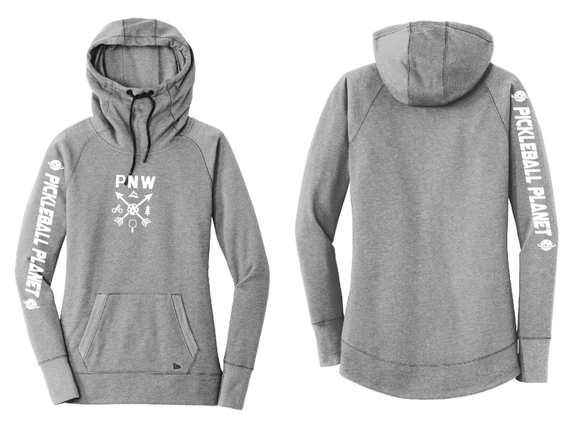 Ladies Pullover Hoodie Shadow Gray PNW