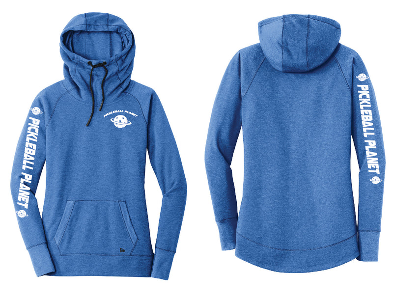 Ladies Pullover Hoodie Royal Blue Pickleball Planet