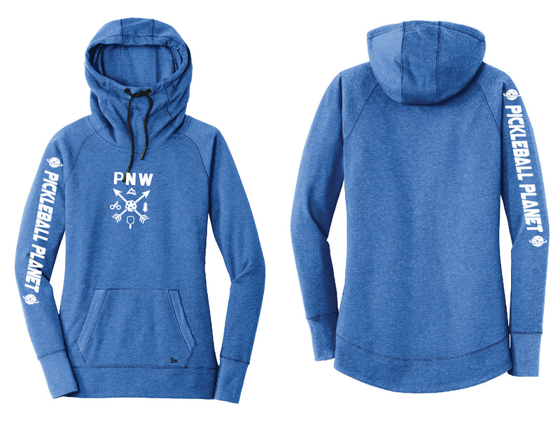 Ladies Pullover Hoodie Royal Blue PNW