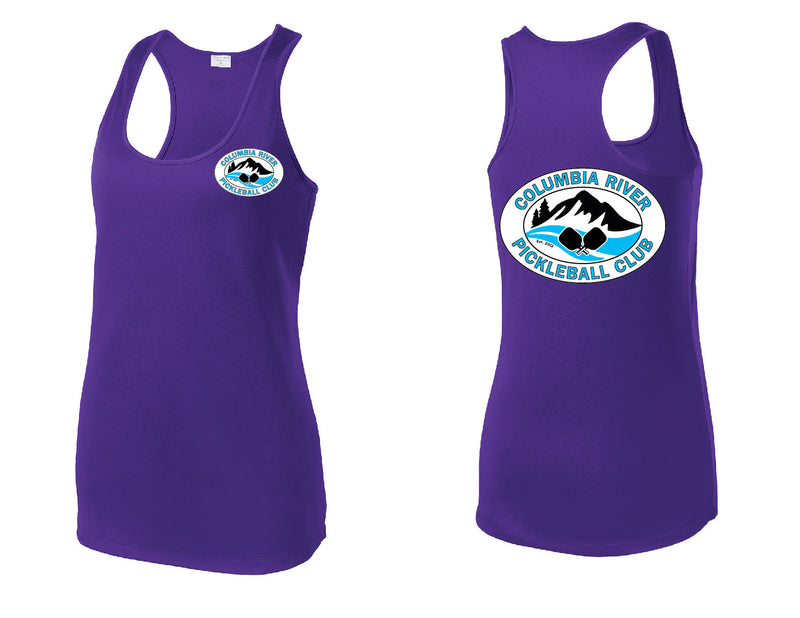 Ladies Performance Racerback Tank 'CRPC'