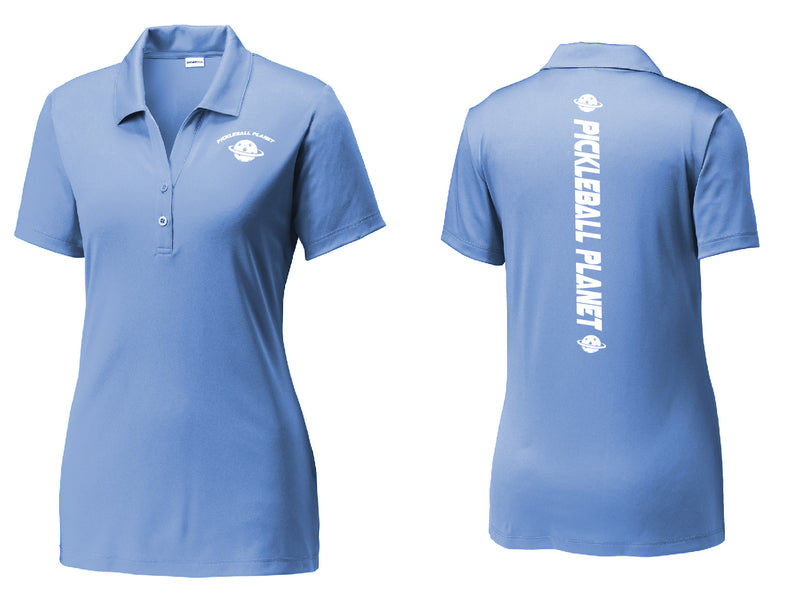 Ladies Sport-Tek Performance Polo 'Pickleball Planet'