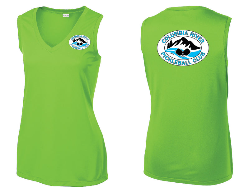 Ladies Sleeveless Performance Tee 'CRPC'