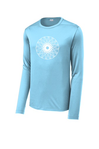 UNISEX Sport-Tek ® Posi-UV ™ Pro Long Sleeve Tee 'Kaleidoscope' Design