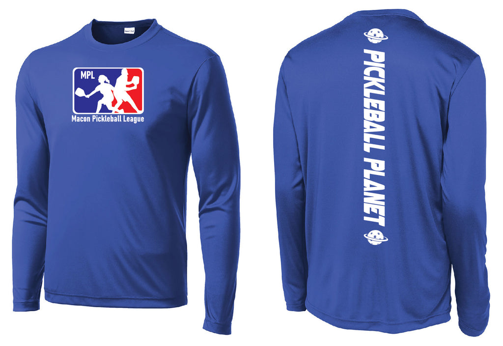 Men's Long Sleeve Performance Shirt 'MPL'